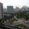 Une fin d'après-midi de pluie à Bangkok….