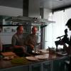 Tournages des Podcasts pour » Profiles » à l'Atelier de Cuisine.