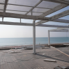 Et les travaux continuent… sur la plage… Renaissance pour Carré Blanc !