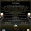 5 novembre prochain à Bangkok… Ce sera Glamour !