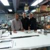 JP Xiradakis dans les cuisines des frères Pourcel à Shanghai