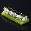La recette de la semaine : Gelée de pomme verte, tartare de noix de Saint-Jacques et caviar
