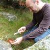 Grosse poussée de champignons… randonnée en famille dans les Cévennes