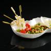 Recette de la semaine : minestrone de courgette et calamars en brochette