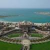 Abu Dhabi, Émirates Palace sous le soleil évidemment !