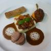 Nouveaux plats pour le menu déjeuner à 48 € du Jardin des Sens…