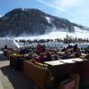 Ce lundi le soleil brillait sur les pistes de Val d'Isère
