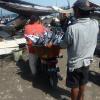 Bali : le marché aux poissons à Jimbaran sur la plage de Kedonganan