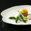 Recette de la semaine : mousseline de foie gras et asperges, émulsion de truffe