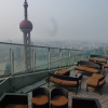 Ritz Carlton à Pudong, pour la vue mais aussi pour la cuisine du chef