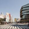 Maison du tourisme de Asakusa au Japon : l'architecte Kengo Kuma a entassé des maisons