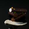Recette de la semaine : tubes aux deux chocolats et sorbet menthe poivrée