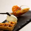 Recette de la semaine : gaufre tiède à la compotée d'abricots