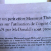 Augmentation de la TVA dans la restauration… McDonald's s'essaye au Fact-Checking