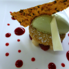 Version Hiver pour le menu « Eclat du terroir en Languedoc » du Jardin des Sens
