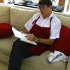 Le chef Alain Caron divulgue ses secrets de cuisine à Bali