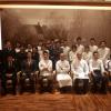 Le Chef Laurent Pourcel cuisine à L'Auberge de L'ILL à Nagoya au Japon