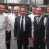 De passage à Las Végas l'ex Président français dîne chez Guy Savoy