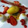 Formule déjeuner au menu du Jardin des Sens à Montpellier