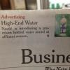 Nestlé lance une eau » haut de gamme » destinée aux femmes d'affaires… qui doute encore que l'eau c'est du business ?
