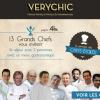 » Very Chic » un site qui fait la part belle aux Grands Chefs de belles maisons