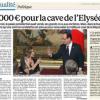 Au budget 2014 de l'Élysée, 50 000 euros pour acheter les vins