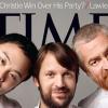 Les trois stars de la cuisine mondiale à l'honneur en couverture du Times Magazine.