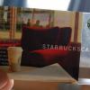 Starbucks confirme son succès mondial avec sa » Starbuckscard «