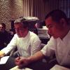 André Chiang et Joan Roca en cuisine pour un dîner à Singapour