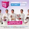 » Impro en Cuisine » – Un nouvelle challenge culinaire d'un chef en direct sur la Web TV