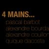 4 chefs – les gestes, les mains … la création …