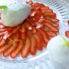 La recette de la semaine : Le carpaccio de fraises au citron et basilic