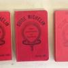 Collectionner les guides Michelin… les chefs aiment ça !
