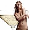 Une coupe de Champagne inspirée du sein gauche de Kate Moss