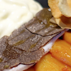 12 recettes pour accompagner vos fêtes – Le filet de bar aux topinambours glacés à l'orange ( 3 )