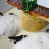 12 Recettes pour accompagner vos fêtes – La royale de cèpes, crème de topinambours et tartine grillée aux foies ( 8 )
