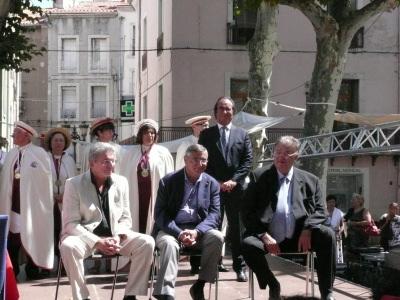 Intronisation G. Frêche et R. Couderc