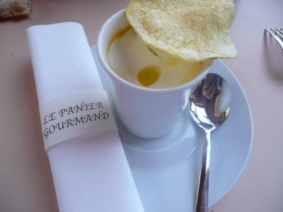"""Une crème de potiron... Version """"Panier Gourmand"""""""