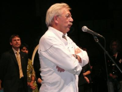 Michel Lorain qui présidé la journée