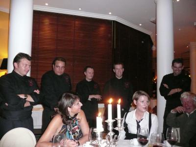 La visite des chefs à notre table