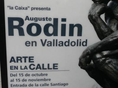 Après Palma, Malaga et Grenade, c'est au tour de Valladolid de recevoir Rodin