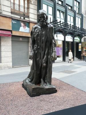 Eustache de Saint-Pierre - Bronze 1887 -