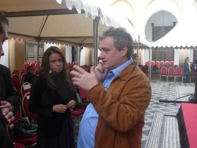 De bonne heure, Fatéma Hal et Christian Escriba, célèbre pâtissier Barcelonais