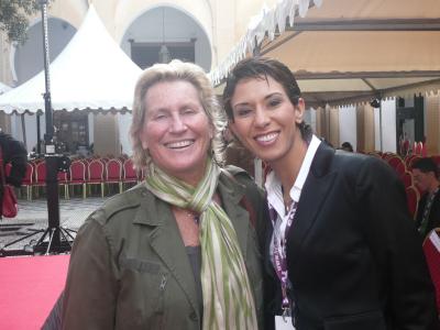 Véronique André et Meryem Cherkaoui