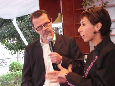 Éric Roux et Meryem Cherkaoui