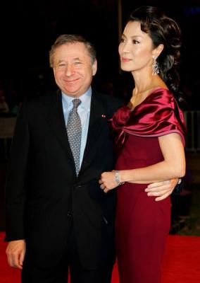 Jean Todd et son épouse l'actrice Chinoise......