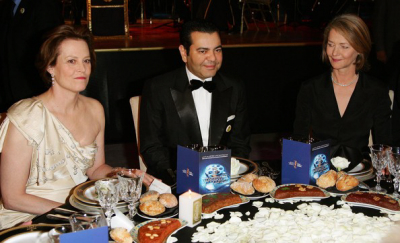 Sigourney Weaver, Le Prince Moulay Rachid, Charlotte Rampling