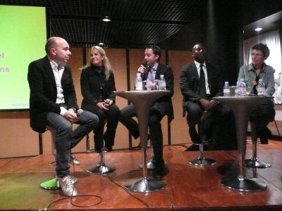 Chef d'entreprises et journalistes réunis pour témoigner de leurs expériences