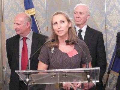 Michèle Villemur Responsable du Salon