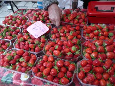 Encore des fraises de la région, à des prix défiant toute concurrence !